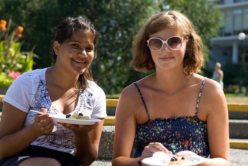 Students @ UBC Blueberry Fest
