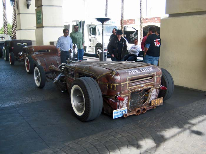 Rat Rods Roll In