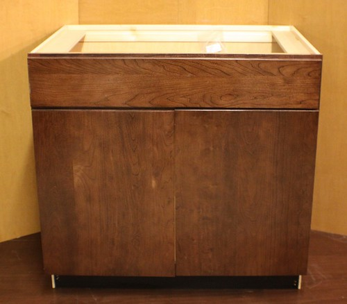 Kraftmaid Cherry Kitchen / Vanity Sink Base Cabinet