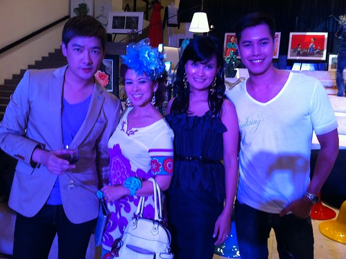 With Tim Yap, Tessa Valdes and Mark Gueco