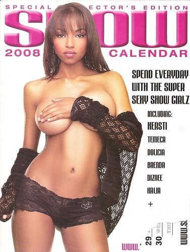 show magazine calendar