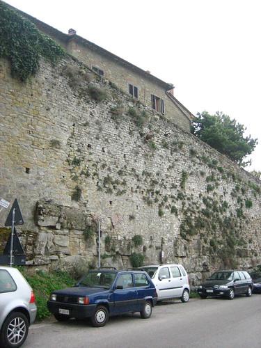 Walls of Cortona
