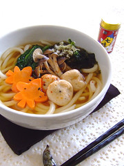 Autumn udon (bananagranola (busy)) Tags: food cooking japan japanese soup udon homemade noodle japanesefood washoku mediterrasian whetgobblefrolic