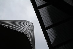 Under Tower 42, London (m_r_harvey) Tags: city building london tower architecture modern skyscraper office perspective highrise