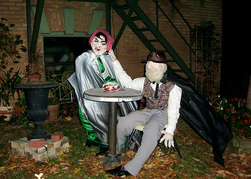 Peculiar couple