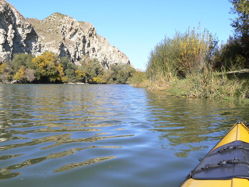 Río Aragón con el Arga en Otoño 006