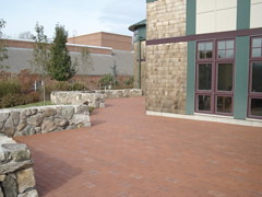 Our new brick patio!