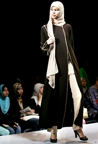 Elegant Moslem Fashion of School Fashion 2009