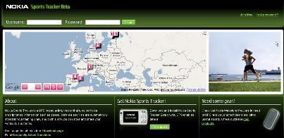 Nokia Sports Tracker Online