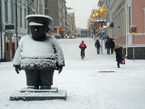 Finlandiya...Oulu Sehri yada belediyesi...