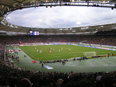 Gottlieb-Daimler-Stadion, Stuttgart (poity_uk) Tags: germany bayern deutschland football fussball stuttgart stadium soccer fans stadion spectators supporters calcio bundesliga footballground fcbayern zuschauer fcbayernmnchen vfb vfbstuttgart gottliebdaimlerstadion