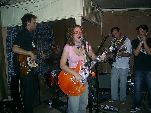 Azambujas Blues Band no inicio do Show