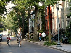 DC's Dupont Circle neighborhood (photo courtesy of Dan Burden)