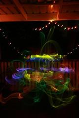 Christmas Glowstick Fun #1