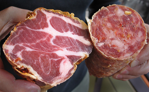 Coppa and agrumi