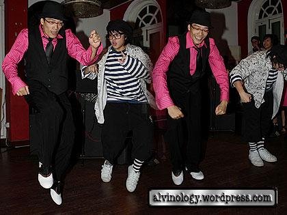 shaun dancing