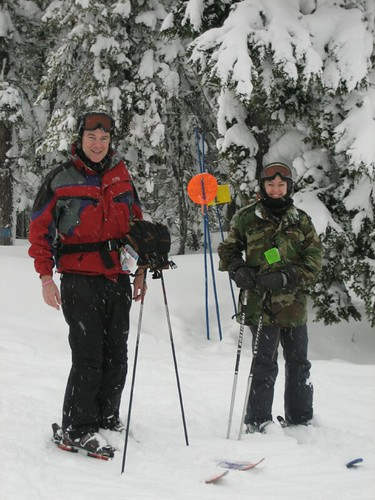 Mark and Kit at Lookout Pass