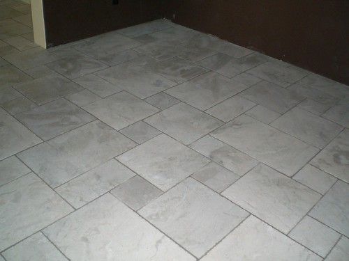 botticino tumbled marble kitchen floor source owners of kitchens with stone tile floors do you like