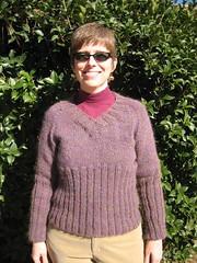 Cozy V Neck Pullover