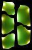 The green door (sellig) Tags: barcelona door green glass spain gaudi catalunya soe parkguell