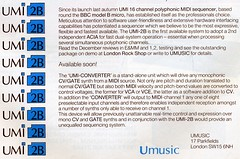 Umusic UMI 2B 1988 (Neil Vance) Tags: uk b london rock shop vince neil bbc micro british blocks beeb midi leonard umi clarke vance 4m sequencer erasure umusic umi2b neilvance lyntonnaiff