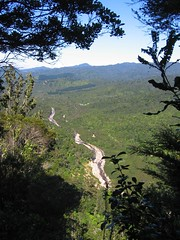 The view into the Kauaeranga Valley Photo