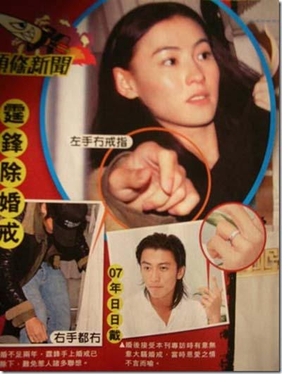 Nicolas Tse and Cecilia Cheung