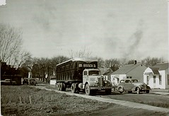 Rausch truck (light reading) Tags: dad semi 1940s 1950s trucking cherokeeiowa