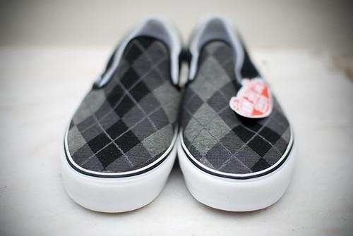 new shoes pattern f14 vans argyle slipon sigma30mm nikond80
