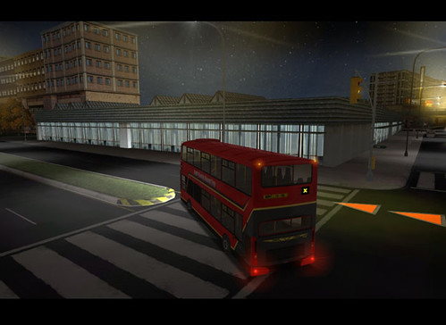 Bus Driver Game Screen Grab