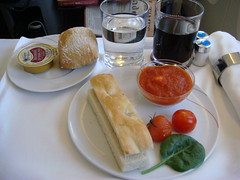 Air France (LAXFlyer) Tags: inflight cabin service airfrance businessclass lespaceaffaires