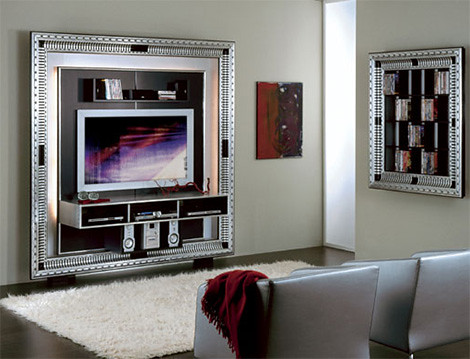Luxurious TV Frame from Vismara Design | Home Trends | Decoration | Gardening