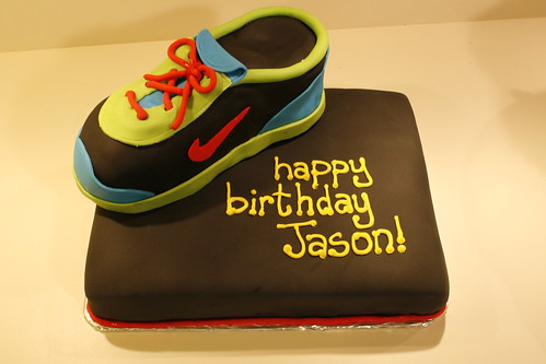 Jason's Sneaker Birthday Cake