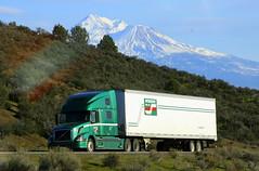 Interstate and Mt. Shasta (Jenni Reynolds-Kebler) Tags: california company 100views 200views interstate mtshasta trucking bigrig idc distributors interstatedistributors