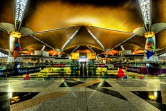 Entering the Kuala Lumpur International Airport (Stuck in Customs) Tags: pictures lighting light panorama house art texture modern reflections painting fun photography crazy airport amazing nikon perfect colorful asia exposure shoot artist mood photographer shot angle photos details d2x perspective smooth images symmetry international edge malaysia pro kualalumpur capture tones kl klia hdr impressive polished stuckincustoms casinoentrance treyratcliff