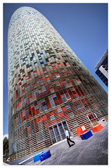 disco dildo (staffh) Tags: barcelona city summer urban hot building tower architecture modern skyscraper spain torre jean tall catalunya dildo catalua 2007 nouvel agbar