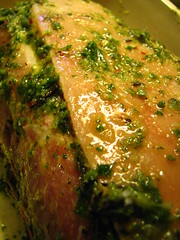Marinating Pork Shoulder (Italian Style)