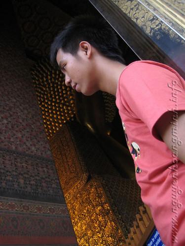 Đầu tượng ph�t nằm lớn nhất Thái Lan