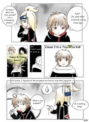 Why Sasori does not want to grow - A Naruto shippuuden comic