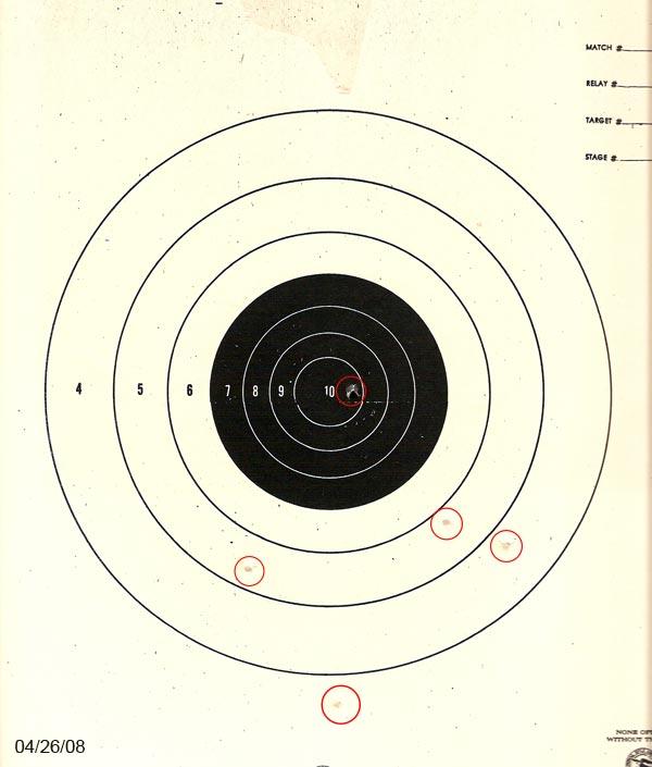Daniel\'s BB Gun Target