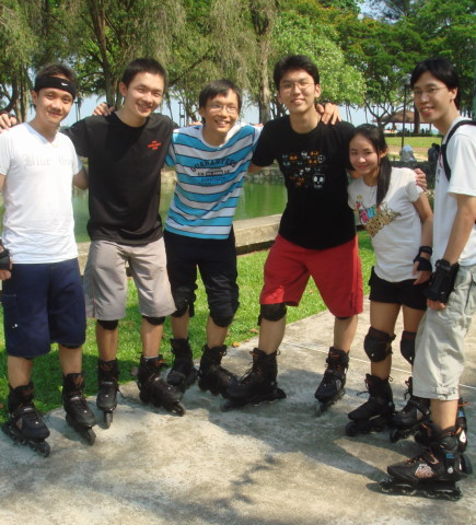 The Roller Bladers