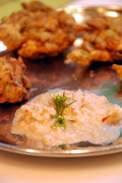 Arugula Flower Chutney
