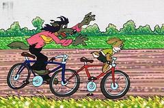 CCF20150907_00000 (JustynaJustys) Tags: illgetyou wilk zając russian cartoon bajka rysunki art