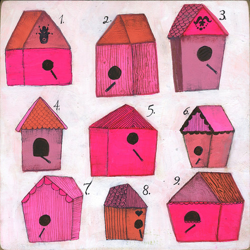 Birdhouse Specimen Collection No. 1