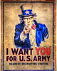 Uncle Sam (GregorySmithey) Tags: school lake army james us high texas sam classroom you uncle tx houston class want clear montgomery flagg hdr i