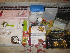 estrellas de chocolate ingredients