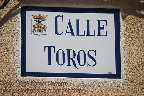 Placas - Calle Toros