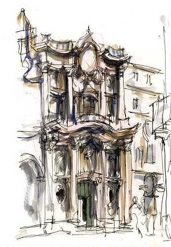 Borromini's San Carlo Ext