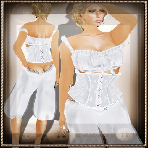 A&A Fashion Full Sculpted Outfit Susi White