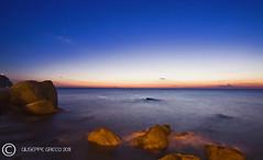 PRELUDE (GIUSEPPE GRECO PHOTO) Tags: longexposure travel blue sea sky italy seascape canon stars landscape island eos rocks campania hour 5d ischia forio waterscape 1740l trasparency giuseppegreco
